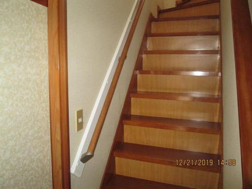 階段手摺設置工事/