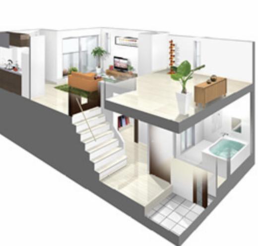 これからのアパートスキップフロアの設計/