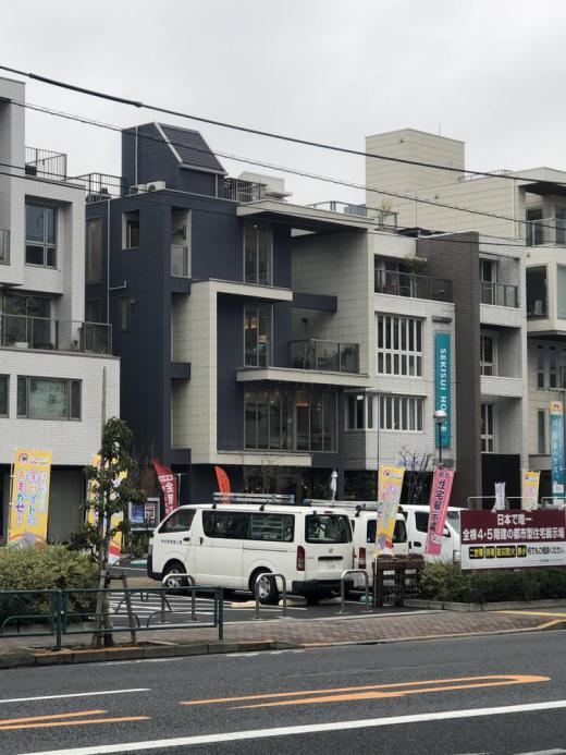 東京出張の際のモデルハウスを見て/