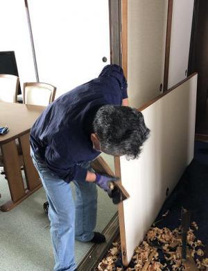 「建具の修理」の画像