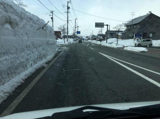尾花沢の雪/