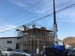 「無事に建て方工事が完了しました!!」の画像