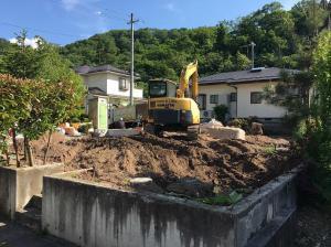 「解体工事スタート その2」の画像