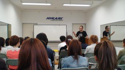 2012/09/06 05:30/講習後半は参加された方からの質問タイムでした。