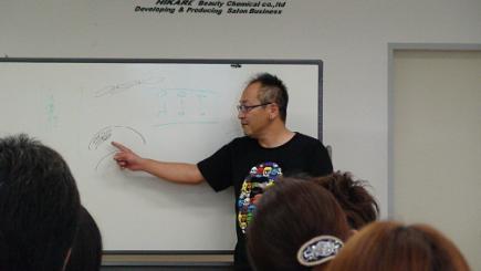 2012/09/06 05:20/講習スタートです。