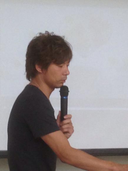 2013/10/29 07:02/ピースオブヘアー 赤松隆滋さんです!