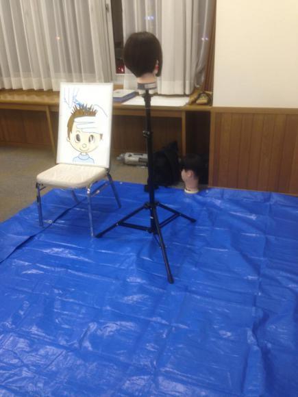 2013/10/29 07:06/10月28日(月)、初めての「ママにもできる!チャイルドカット☆講座」 をさせていただきました。