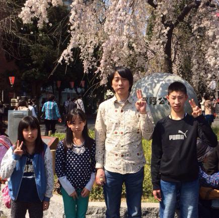 2015/04/10 06:04/ちょうど東京は🌸桜🌸の時期でしたので上野恩賜公園に足を運びました♪