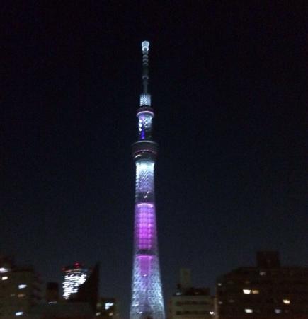 2015/04/10 06:12/首都高を走りながら帰り道に〜♪