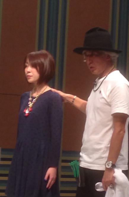 2015/10/07 05:50/Heavensの小松 敦さんのショーを見に行ってきました♪