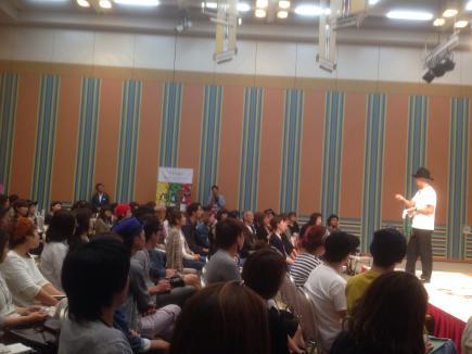2015/10/07 05:52/会場にはたくさんの方が来ておりました!!