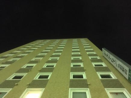 2017/01/11 07:04/宿泊のホテルはルートイン弘前駅前