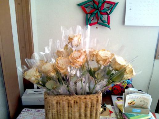 2012/03/24 13:07/きれいなお花が届きました〜