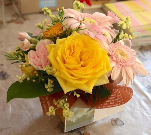 2017/06/15 17:40/【祝15周年】きれいなお花ありがとうございました!