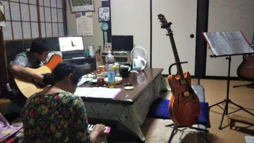 ギター練習/