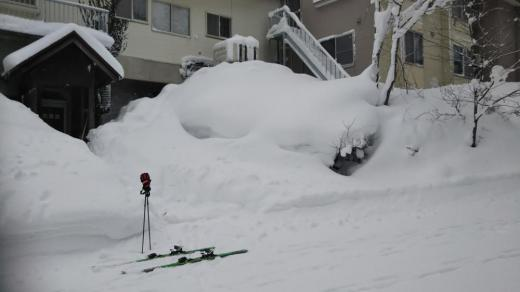 米沢スキー場のペンション/