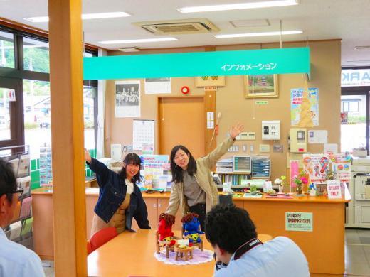 福島から取材・撮影にいらっしゃいました♪/