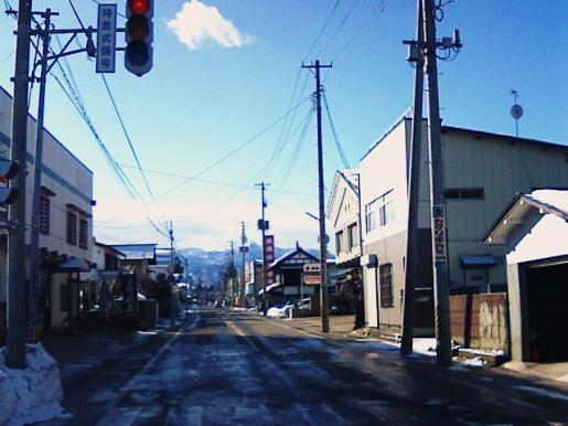 2009/01/25 12:48/東町に雲ひとつ。石田三成を思う。