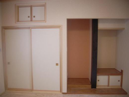 山形市 KI様邸新築工事 27 製作建具取付 『テクノストラクチャーで建てる長期優良住宅』/
