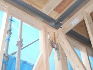 「山形市 ZW様邸新築工事-22 金物自主検査  『テクノストラクチャーで建てる山形の住宅』」の画像