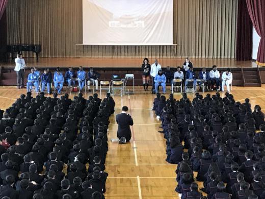 タンザニア選手団への質問会/