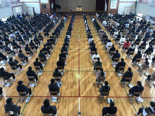 2学期終業式/