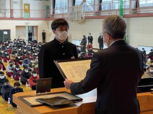 「長井教育会賞 表彰」の画像