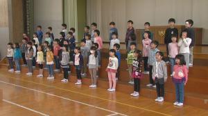 「5月1日〜放送 みんなの世界「高畠町立高畠小学校 1年生を迎える会」」の画像