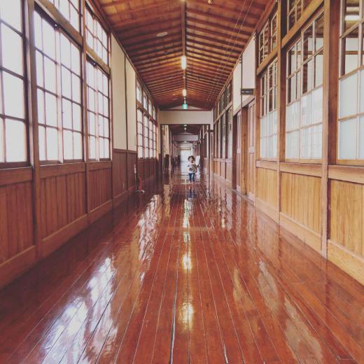 旧長井小学校第一校舎/