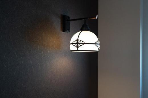 トイレ 大正浪漫なブラケットライト。/