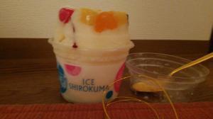 「☆これからの夏にはシロクマ氷(//∇//)☆」の画像
