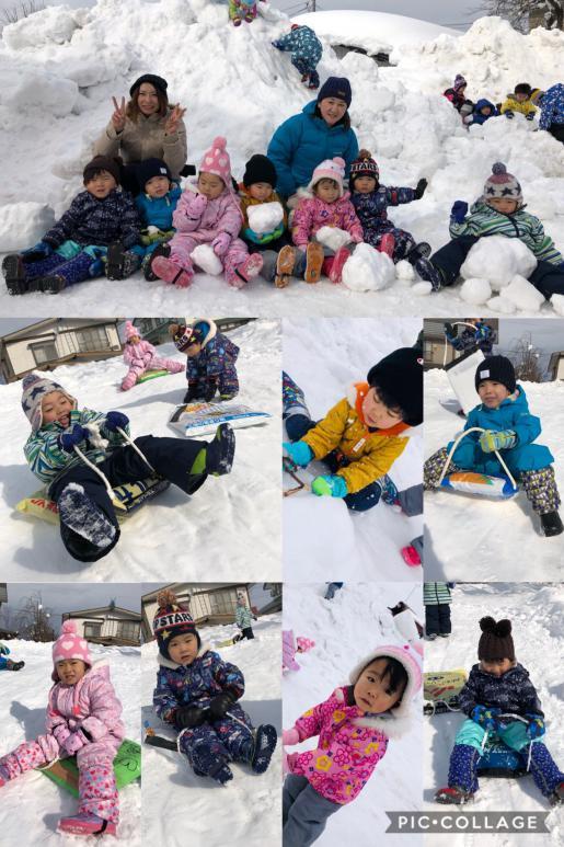 2019/01/28 14:17/雪遊び(こねこぐみ)