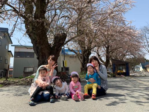 2019/04/23 20:05/お花見散歩(こねこ組)