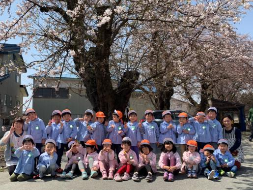 2019/04/23 20:09/お花見散歩(らいおん組)