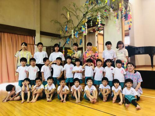 「七夕集会(うさぎ組)」の画像