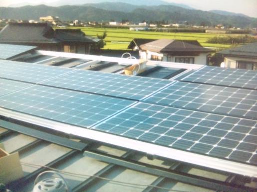 2011/09/16 12:01/太陽光発電システム工事☆