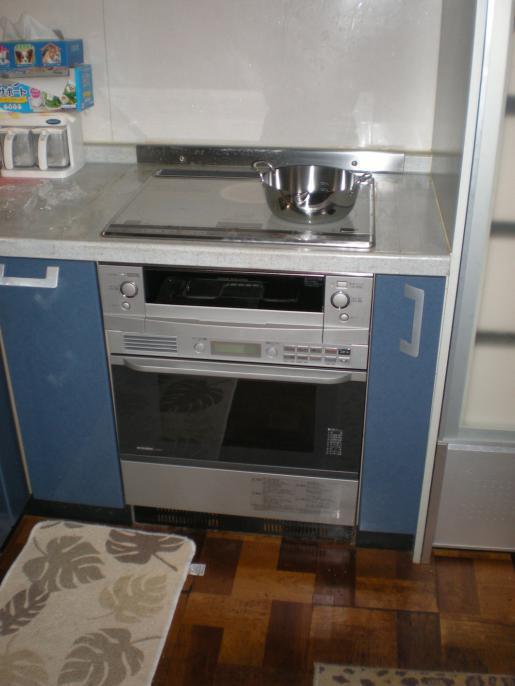 2012/04/12 21:16/IH・オーブン設置工事