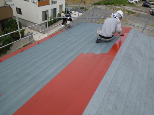 2012/06/12 20:47/屋根塗装工事☆