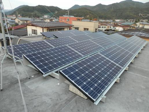 2013/11/01 19:22/陸屋根太陽光!