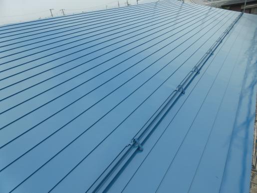 2018/07/19 19:31/屋根塗装完了!