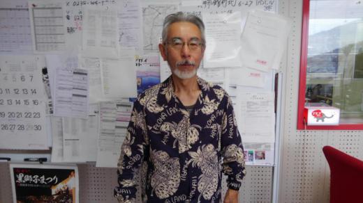 村上さん、ファッションチェックでーす。/