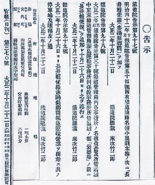 軽鉄人物伝� 床次竹二郎(その1)/