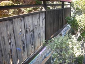 「雪降る前に板塀塗装」の画像