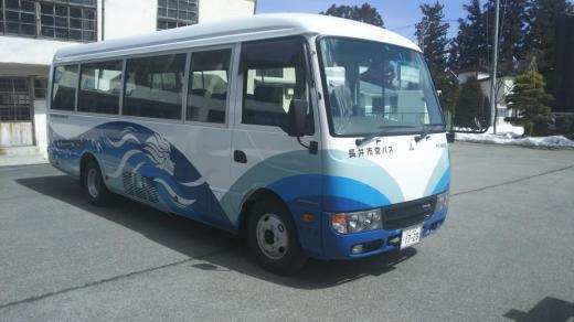 新しいバスで運行・西根バス/