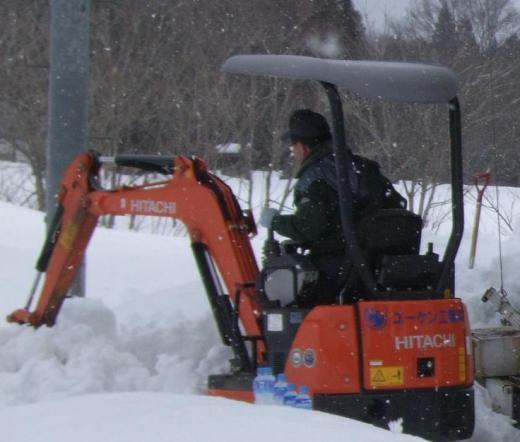 ユーケン工業(株)様 除雪ボランティアありがとうございました。/