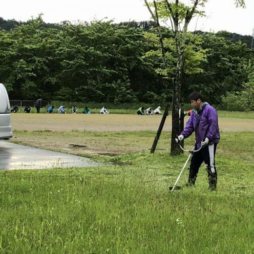 『燦燦会』さま 草刈りボランティアありがとうございました。/