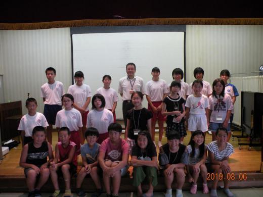 「サマーボランティアスクール2019」を開催しました。/