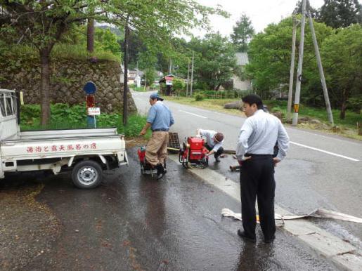2012/06/08 16:44/新班長 K次郎推参! 【白布消防団】