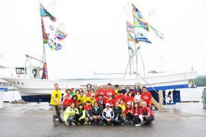 「2012.7.14 南三陸町・歌津・高橋家進水式」の画像