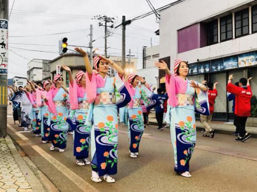 平成30年度 長井おどり大パレードが開催されました!/
